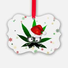 marijuana ornament cafepress