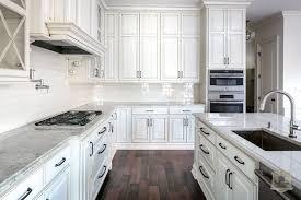 white kitchen cabinets with gray glaze glazed cabinets transitional kitchen stonecroft homes