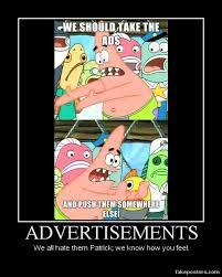 Star Memes - patrick star pushing meme advertisements by onikage108 on deviantart