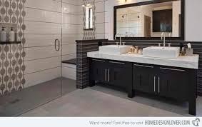 bathroom cabinetry designs black cabinet designs in 15 bathroom spaces home design lover
