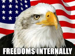 America Eagle Meme - freedoms internally flag descriptive noise know your meme