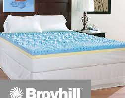 mattress awesome queen size cooling mattress pad broyhill