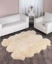 decor fabulous fur rug for floor decoration ideas