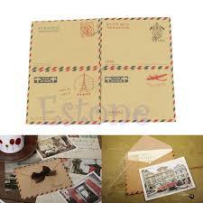 Dstockage Papeterie 10 Pcs Vintage Mini Enveloppes Pour Carte Postale Lettre Papier De