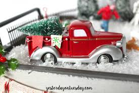 christmas trees on cars countdown calendar yesterday on tuesday