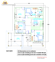 drawing house plans 2d house plan sloping squared roof kerala home design and