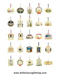 1991 2013 white house gift shop ornament collection 24 years u0026 25