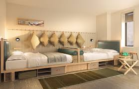 Famous Interior Designers For Hotels Moxy Times Square Unveils Its Yabu Pushelberg Designed Rooms