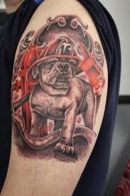 humming bird tattoos firefighter