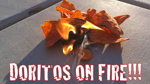 fire starters using flames to camping tip a doritos fire gopro video youtube