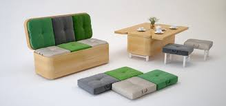 multifunctional table multifunctional sofa that can transformed into dining table