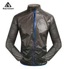 mtb rain jacket racmmer new super light mtb windstopper windproof cycling jersey