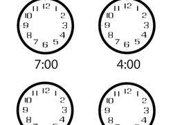 kindergarten time worksheets u0026 free printables education com