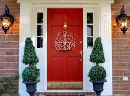 Ribbon Decoration Pinterest Backyards Front Door Decoration Welcome Guests Entry Decorating