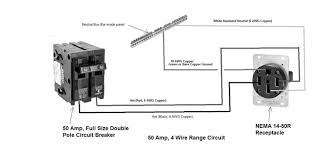 wiring wiring diagram of wire size for 50 amp 220 volt circuit