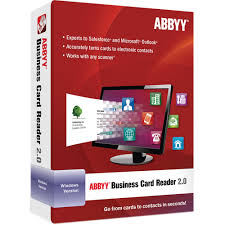 card software abbyy business card reader 2 0 for windows frlbcrdfw2xe b h