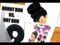 hot buns review donut bun vs hot bun on curly hair review