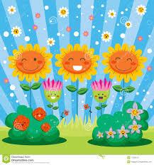 happy spring flower garden royalty free stock photo image 17939515