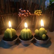 save 30 ornerx cactus candles for home decor set of 6