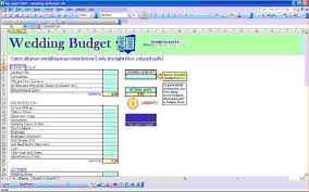 Budget Spreadsheets 7 Wedding Budget Excel Spreadsheet Procedure Template Sample