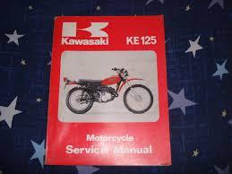 kawasaki 1978 80 ke125 service manual pn 99924 1010 02 u2022 cad