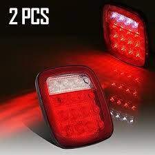led brake lights for trucks truck tail light amazon com