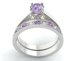 amethyst engagement ring sets amethyst engagement ring purple amethyst