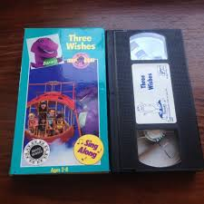 The Backyard Show Book Barney by Opening To Barney U0026 The Backyard Gang Three Wishes Vhs Youtube
