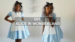 Alice In Wonderland Costume Diy Costume How To Make A Disney Alice In Wonderland Youtube