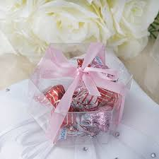 walmart wedding favors 25 pcs 3 wedding favors hexagon boxes clear usa brand