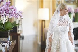 valentino wedding dresses nicky marries in custom valentino wedding dress