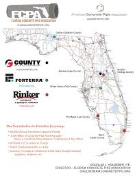 Orange County Florida Map by Florida Concrete Pipe Home