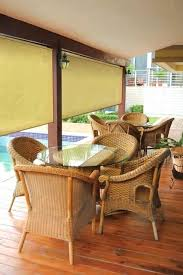 Roll Up Sun Shades For Patios 8 Ft Window Sun Shade Blind Roller Roll Up Exterior Cordless Patio