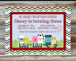 invitations by susan printable custom train theme birthday invitation 1st 2nd 3rd