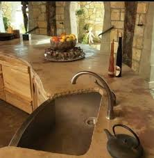 Rustic Kitchen Countertops - 16 best stained concrete countertops images on pinterest stained