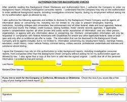 free background check authorization forms pdf eforms u2013 free