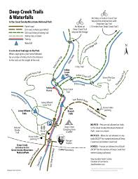 North Carolina State Parks Map by Deep Creek North Carolina In The Great Smoky Mountain National Park