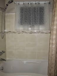 Bathroom Window Curtains Bathroom Window Shower Curtains Interior Home Design Ideas
