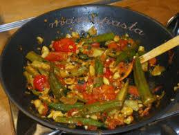 cuisiner des gombos sauté de gombos impro pdv le chinois et la salamandre