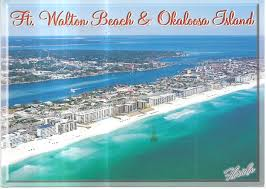 Map Florida Beaches by Fort Walton Beach Every County