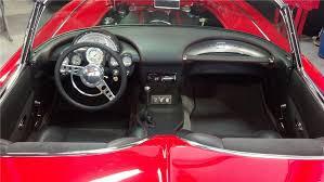 Custom Corvette Interior 1961 Chevrolet Corvette Custom Convertible 137781