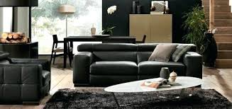 natuzzi canapé canape cuir noir design georgiapopplewell info