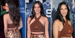 olivia munn u0027s long v shape haircut