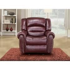 Maroon Living Room Furniture - burgundy recliners hayneedle