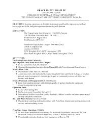 Penn State Resume Resume Grace Bratlee 2