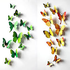 Wall Decoration 3d Butterfly Wall Decals Wall Art and Wall