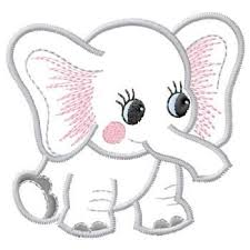 applique patterns baby applique patterns gunold embroidery design baby elephant