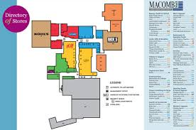 Potomac Mills Mall Map Macomb Mall 55 Stores Shopping In Roseville Michigan Mi 48066
