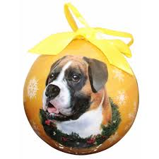 boxer ornaments boxer dog christmas ornaments at boxerdogchecks com
