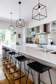 Mirror Tiles Backsplash by Ash Wood Sage Green Raised Door Pendant Lights For Kitchen Island